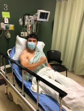 Weel 3: Corbin Carroll in hospital bed after surgery