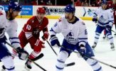 Americans Win Fight Marred Game in Shootout, 3-2