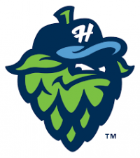 Back & Forth: Hillsboro Hops logo