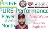Sioux City Explorers Jared Walker Named PURE Performance Player of the Month for May