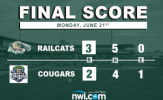 Pitching Dominates in RailCats Double-Header Split