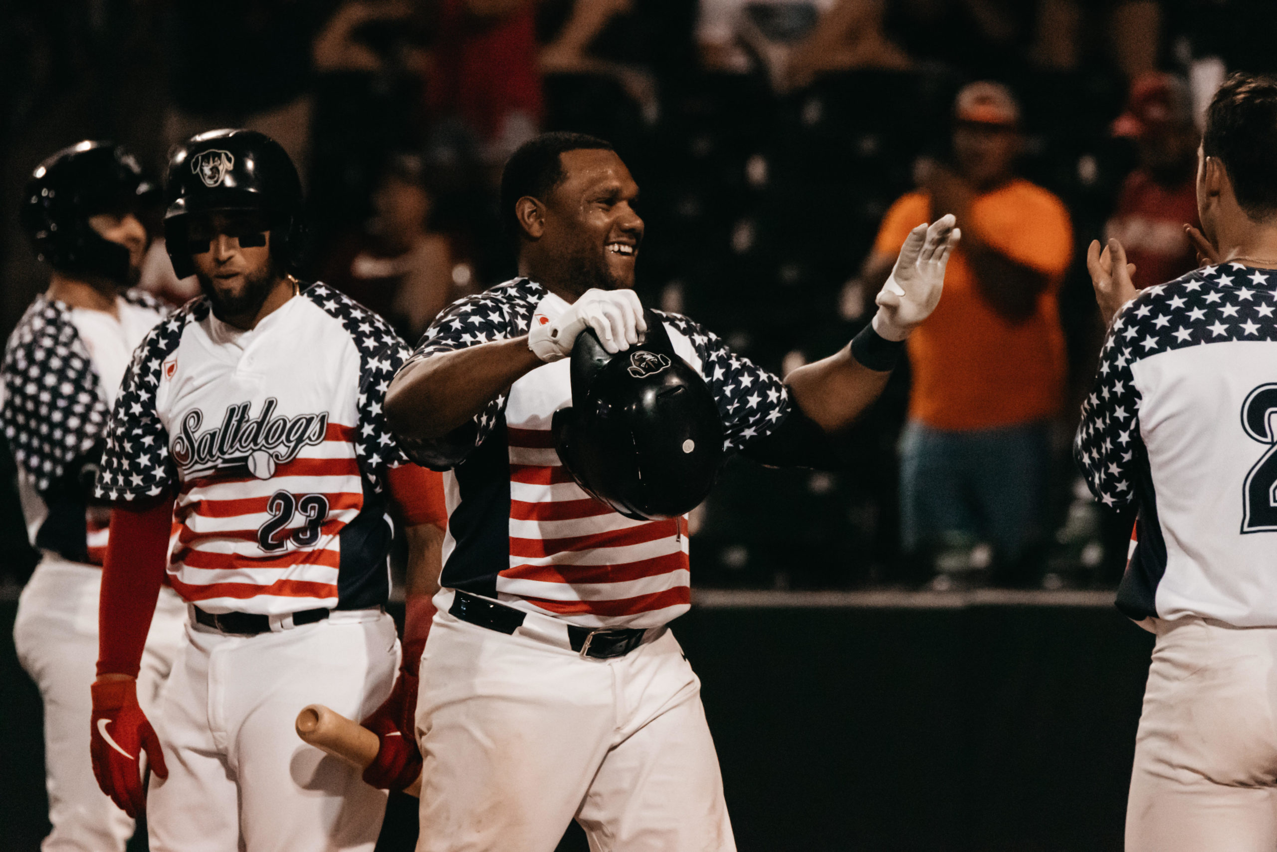 Smith Ties Franchise Record as Saltdogs Complete Sweep