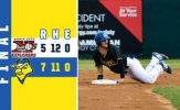 Ebert Homer Caps Decisive Frame in Canaries Victory