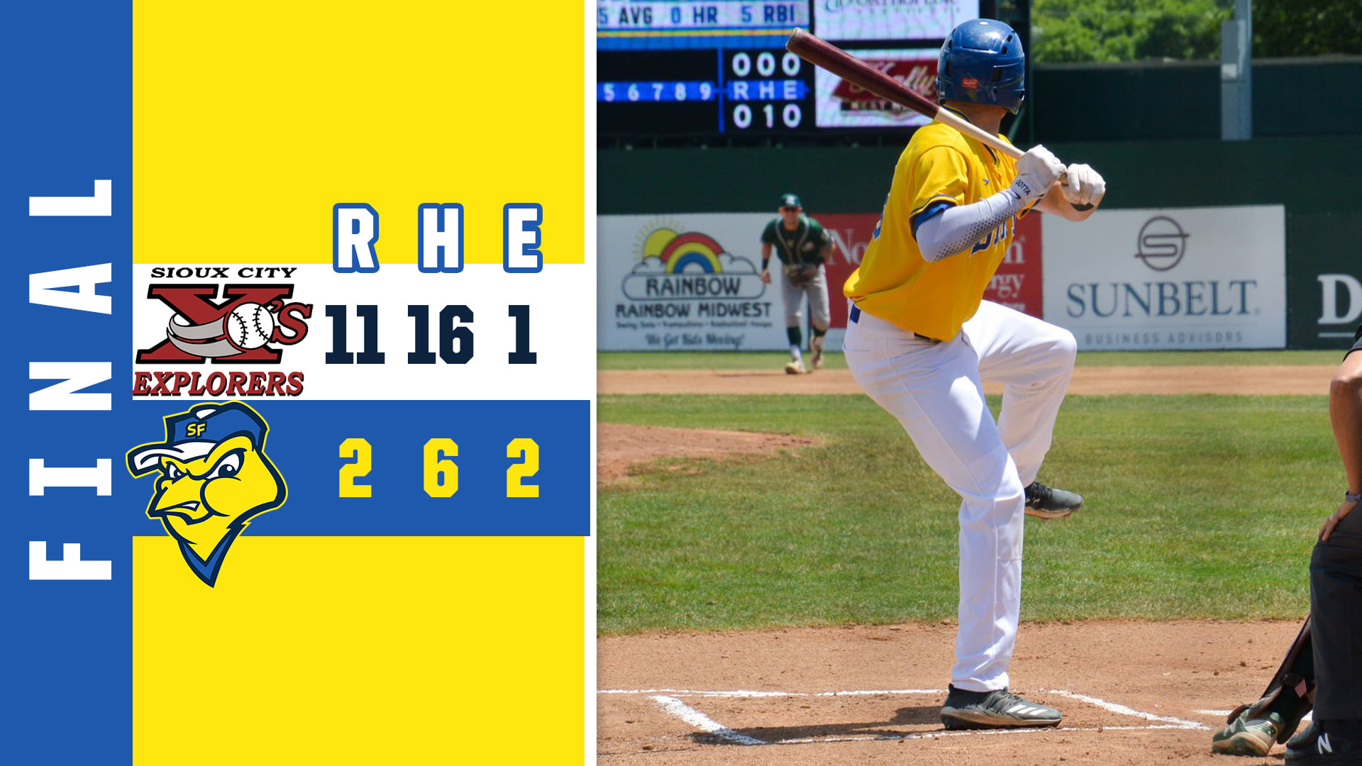 Explorers Dominate Canaries to Close Out Series