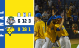 Canaries Score Three in 13th to Outlast Cougars