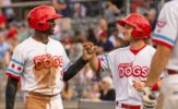 Crouse, Grier Homer in Dogs Decisive Victory