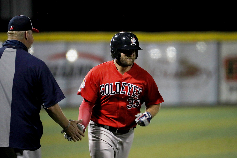 Martin Powers Goldeyes over Explorers in Sioux City