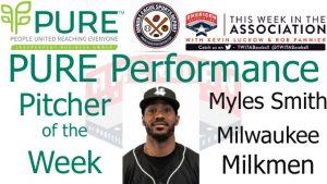 Milwaukee Milkmen RHP Myles Smith