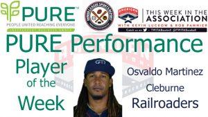 Cleburne Railroaders IF Osvaldo