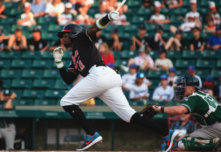 RedHawks Score Early, Hang on to Down RailCats