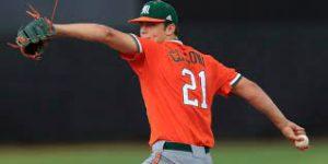 Reece Hampton: Slade Cicconi pitching