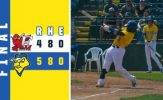 Oh Henry! Outfielder's Homer Gives Canaries Victory
