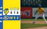 Gotta Drives in Pair But Canaries Fall in Gary