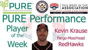 Fargo-Moorhead RedHawks C Kevin Krause