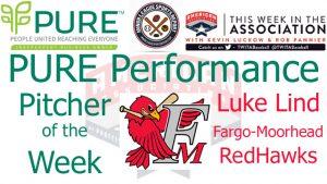 Fargo-Moorhead RedHawks RHP Luke Lind