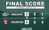 RailCats Drop Rubber Match in Winnipeg