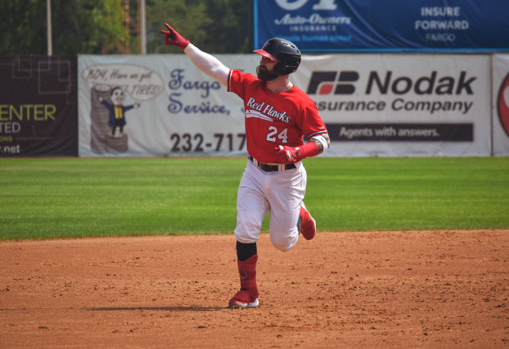 Silviano Homers Twice in Thrashing of Cougars