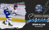 Sean Allen Re-Signs, Bolstering Wichita Thunder Blueline