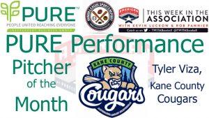 Kane County Cougars RHP Tyler Viza