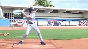 Home run heroes: AJ Vukovich swinging a bat