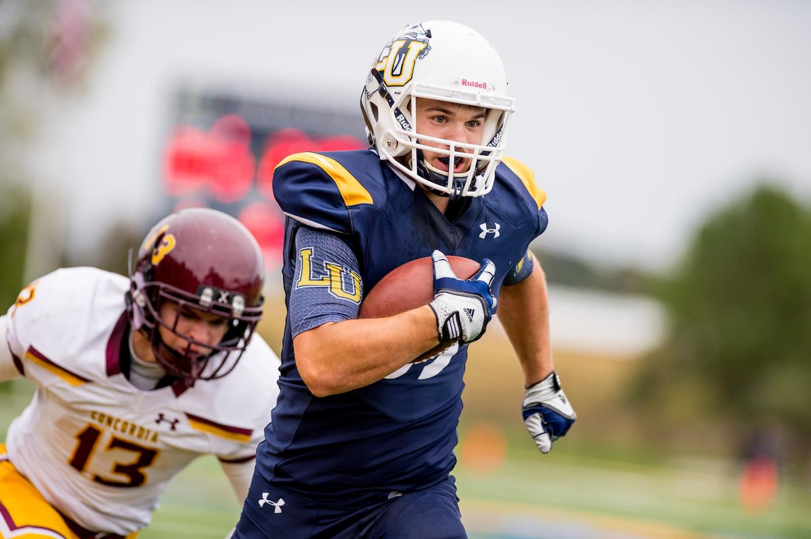 Muskies Counter Punch Too Much for Ravens