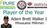 Milwaukee Milkman OF Adam Brett Walker II Named PURE Performance Player of the Year
