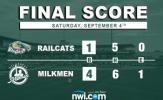 Zimmerman Dominant in Milkmen Victory over RailCats