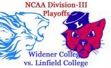 NCAA Division-III Football Playoffs, Round 3: Widener vs. Linfield
