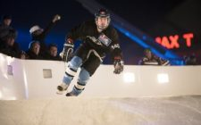 Dean Moriarity Leads International Qualifiers in Red Bull Crashed Ice World Championships