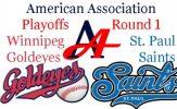 2016 American Association Playoffs: St. Paul Saints vs. Winnipeg Goldeyes