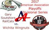 2017 American Association Playoffs: Gary Southshore RailCats vs. Wichita Wingnuts