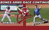 T-Bones Bullpens Sizzles with Eric Stout, Adam Atkins