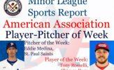 Eddie Medina, Tony Rosselli Earn Top American Association Honors for Week 2