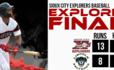 Sermo, Explorers Slug Way Past Saltdogs, 13-8