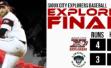 Four Run First Propels Explorers Past Saltdogs, 4-3