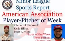 AirHogs Kevin Hilton, Dogs Keon Barnum Honored in Week 10