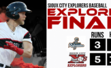 Sermo Walk-Off Sac Fly Gives Explorers 3-2 Win