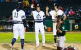 Garcia Homers Twice to Lead Goldeyes to 13-7 Victory