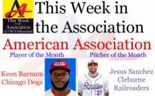 Keon Barnum, Jesus Sanchez Earn July Honors in American Association