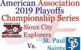 American Association Championship Preview: Explorers vs. Saints