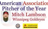Mitch Lambson Named American Association Pitcher of the Year