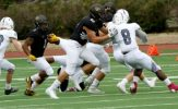 Willis Scores Three TDs as Oles Roll over Storm