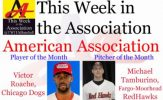 Victor Roache, Michael Tamburino Earn August Honors in American Association
