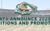 RailCats Announce Staff Changes for 2020