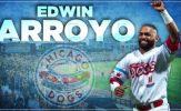 Dogs Re-Sign Star Infielder Edwin Arroyo