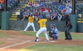 Coulter Homers Twice to Lead Canaries Past Goldeyes