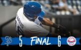 Saints Rally Falls Short in Chicago, 6-5
