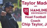 Taylor Made with Hamline University Head Football Coach Chip Taylor