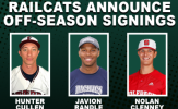 RailCats Sign Cullen, Randle, Clenney for 2021