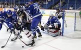 Stewart, Sakellaropoulos Lead Thunder Over Oilers, 2-1